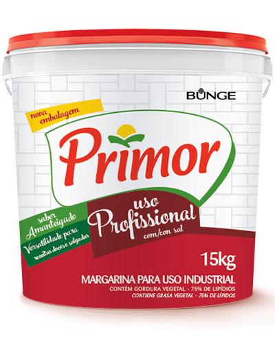 Margarina Primo 75% Lipídios Balde 15kg