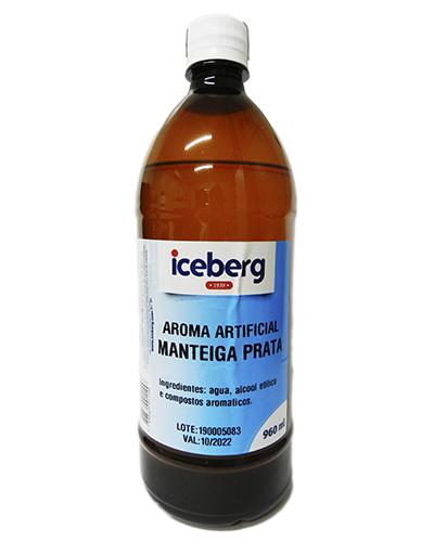 Aroma Artificial Manteiga Prata Iceberg 960ml