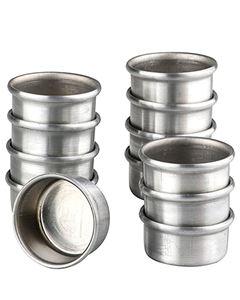 Forma Pão De Mel Alumínio N.1 Doupan 12 Unidades