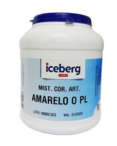 Corante artificial Amarelo Ovo Iceberg 1Kg
