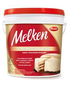 Ganache Chocolate Branco Harald 4kg