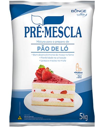 Pre Mistura Pão De Ló Pre Mescla 5kg