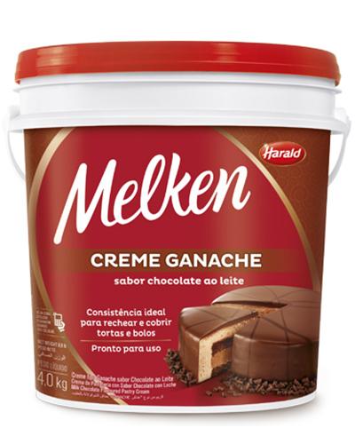 Ganache Chocolate Ao Leite Harald 4kg