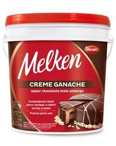 Ganache Chocolate Meio Amargo Harald 4kg