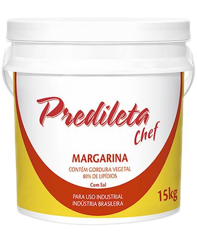 Margarina Predileta 80% Lipídios Balde 15kg