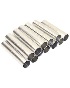 Forma Canola Cilíndrica Grossa Alumínio Doupan 12 Unidades