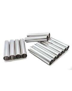 Forma Canola Cilíndrica Mini Alumínio Doupan 12 Unidades