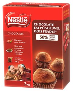 Chocolate Pó 50% Cacau Nestle 2kg