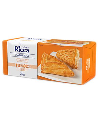 Margarina Ricca Folhados 2Kg