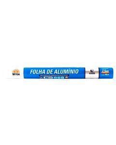 Rolo De Folha de Alumínio Wyda 7,5m x 45cm