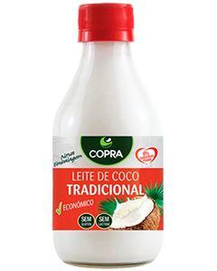 Leite De Coco Copra (9%) Vidro 200ml