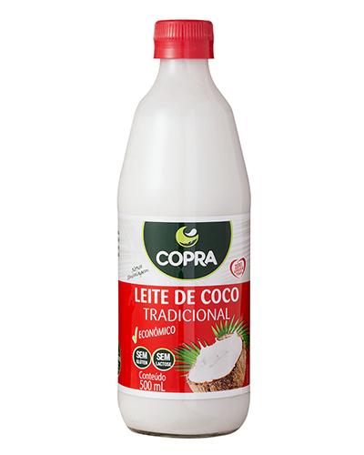 Leite De Coco Copra (9%) Vidro 500ml