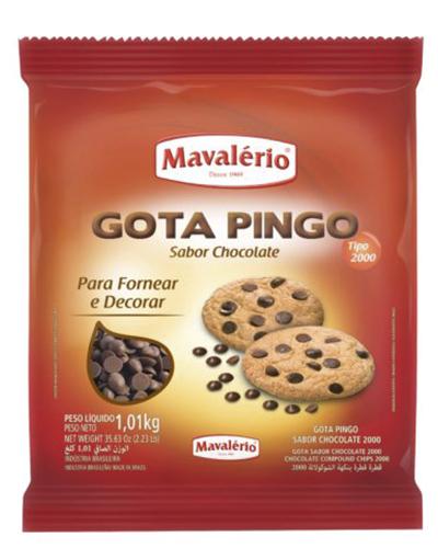 Gota Pingo Sabor Chocolate Tipo 2000 Mavalerio 2,5kg