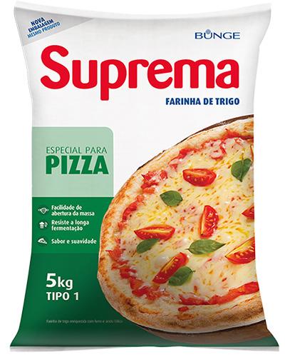 Farinha De Trigo Suprema Para Pizza 5kg