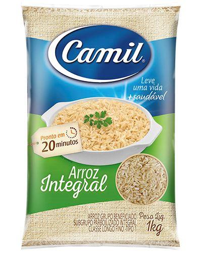 Arroz Integral Camil 1kg