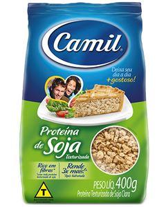 Proteína de Soja Camil Sabor Frango 400g