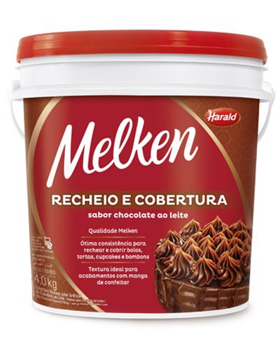 Cobertura Recheio Chocolate Ao Leite Harald 4kg