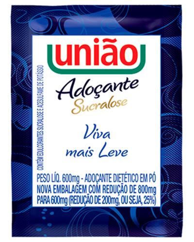 Adoçante Pó Diet Sucralose União Caixa 400x6g