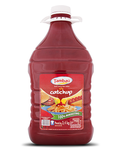 Catchup Tambaú Bombona 3,4kg