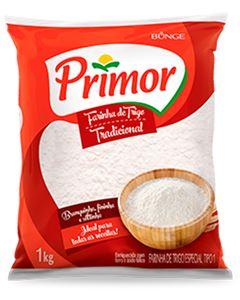 Farinha de Trigo Tradicional Primor 1kg