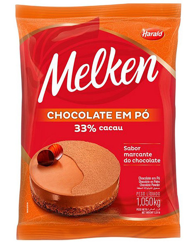 Chocolate Em Pó 33% Harald 1,050kg