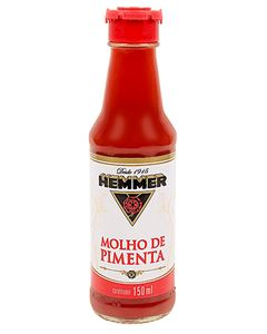 Molho De Pimenta Hemmer 150ml