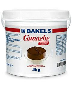Ganache Ao Leite Bakels Balde 4kg