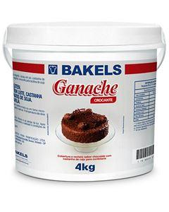 Ganache Chocolate Crocante Bakels Balde 4kg