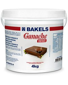 Ganache Chocolate Avela Bakels Balde 4kg