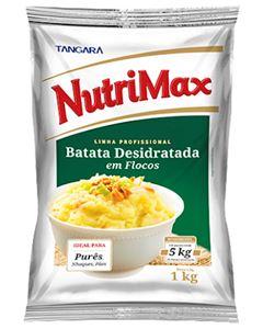 Batata Desidratada Flocos Nutrimax 1kg