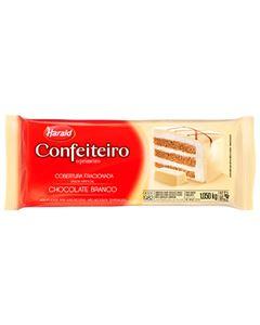 Cobertura Chocolate Branco Confeiteiro Harald 1,050kg