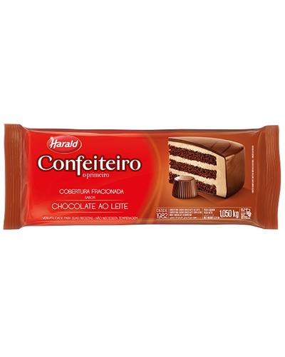 Cobertura Chocolate Ao Leite Confeiteiro Harald 1,050kg
