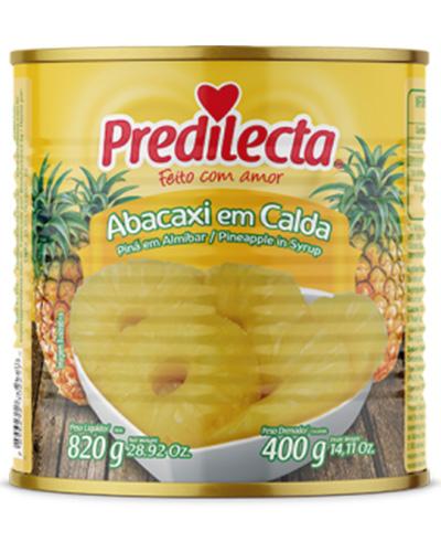 Abacaxi Em Caldas Predilecta Lata 400g