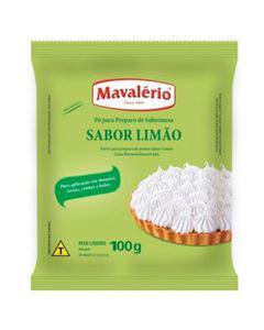 Pó Para Preparo De Sobremesa Sabor Limão Mavalerio 100g