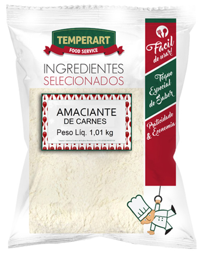Amaciante de Carnes Temperart 1,01kg