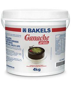 Ganache Chocolate Meio Amargo Bakels Balde 4kg