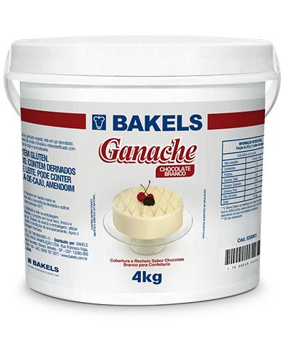 Ganache Branco Bakels Balde 4kg