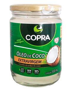 Óleo De Coco Extra Virgem Copra 500ml