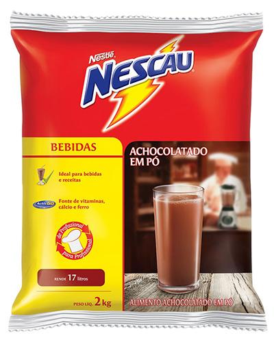 Achocolatado Pó Nescau Nestle 2kg