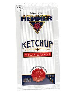 Ketchup Tradicional Hemmer Sache 190x7g