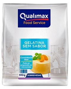 Gelatina Sem Sabor Qualimax 510g