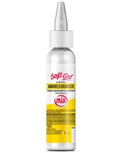 Corante Amarelo Damasco Softgel Mix 60g