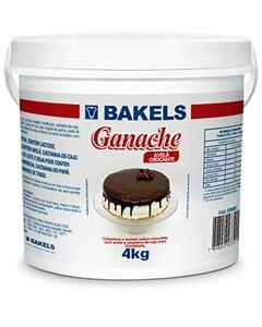 Ganache Chocolate Com Avelã Crocante Bakels Balde 4kg