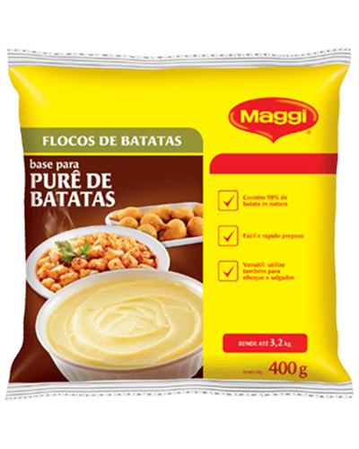 Purê De Batata Maggi Nestle 400g