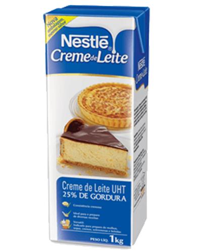 Creme De Leite 25% Gordura UHT Nestle 1kg