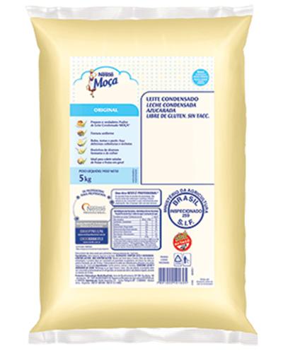 Leite Condensado Moça Nestle Bag 5kg