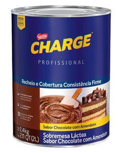 Recheio Cobertura Chocolate/Amendoim Charge Nestle 2,4kg