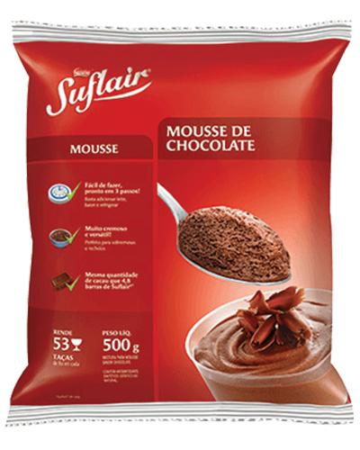 Mousse Suflair Chocolate Nestle 500g