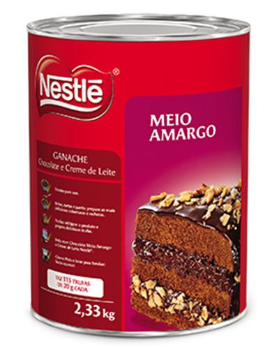 Ganache Meio Amargo Nestle 2,33kg
