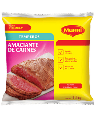 Amaciante De Carne Maggi Nestle 1,1kg